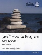 ksiazka tytuł: Java How To Program Early Objects Global Edition autor: Deitel Paul, Deitel Harvey