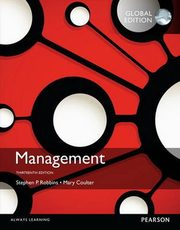 ksiazka tytuł: Management with MyManagementLab Global Edition autor: Coulter Mary, Robbins Stephen