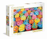 ksiazka tytuł: Puzzle High Quality Collection Colorful Cupcakes 500 autor: