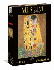 ksiazka tytuł: Puzzle Museum Collection Klimt: The Kiss 500 autor: